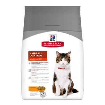 Hills SP Feline Adult Hairball Chicken