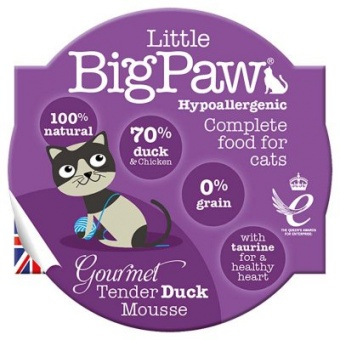 Little Big Paw Gourmet Tender Duck Mousse