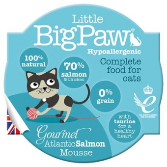 Little Big Paw Gourmet Atlantic Salmon Mousse