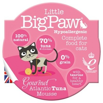 Little Big Paw Gourmet Atlantic Tuna Mousse
