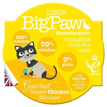Little Big Paw Gourmet Chicken Tender Mousse