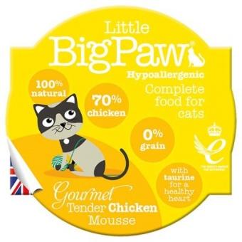 Little Big Paw Gourmet Chicken Tender Mousse