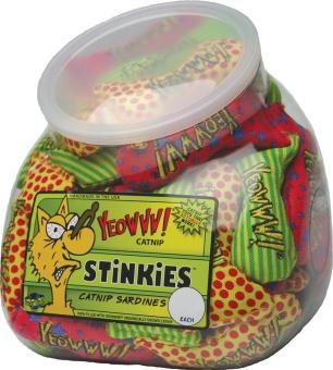 Yeowww! Catnip Stinkies