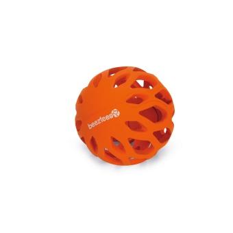 Gumminätboll orange