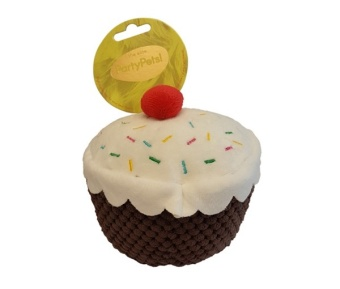 Hundleksak Cupcake