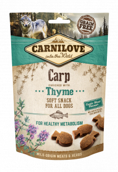 Carnilove Dog Snack Semi Moist Carp enriched with Thyme