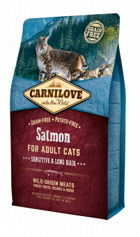Carnilove CAT Salmon - Sensitive & Long Hair