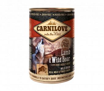 Carnilove Wild Meat Lamb & Wild Boar