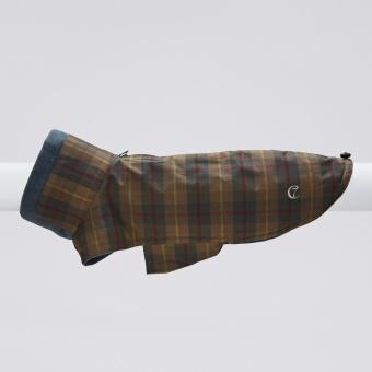 Cloud7 Dog Coat Brooklyn Waxed Tartan