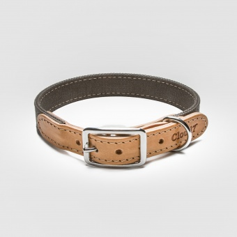 Cloud7 Tivoli Canvas Leather Collar