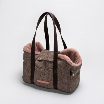 Cloud7 Carrier Milano Herringbone Brown
