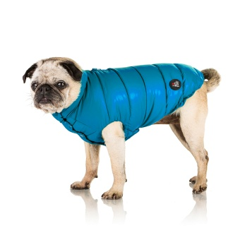 I Love My Dog Highneck Superlight Puffer
