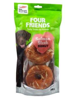 Four Friends Salmon Steak Donut 2-pack