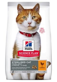 Hills SP Feline Young Adult Sterilised Chicken