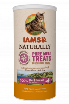 Iams Cat treats Duck