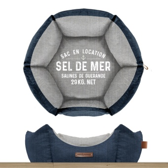 M&P Sel De Mer Sofa Hexagonal Marine