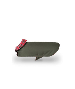Brott Barcelona Dog Coat Green & Tremp