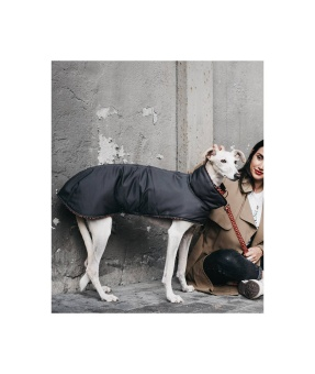 Brott Barcelona Dog Coat Grey & Er