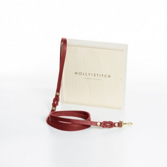 M&S Butter City Leash Chilli Red