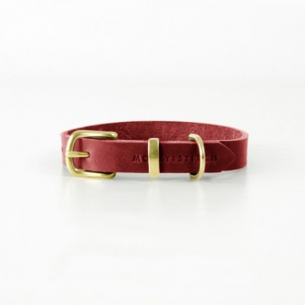 M&S Butter Collar Chilli Red