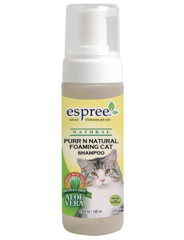 Espree Purr n natural foaming cat shampoo