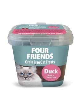 FourFriends Naturgodis FF Cat Treat Duck