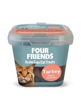FourFriends Naturgodis FF Cat Treat Turkey
