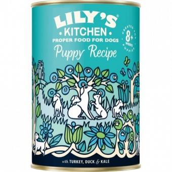 Lily´s Kitchen Puppy Recipe Turkey & Duck