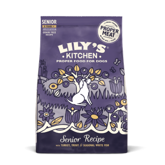 Lily´s Kitchen Senior Recipe with turkey, trout & seasonal white fish