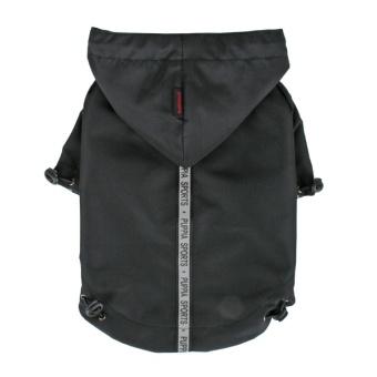 Puppia Base Jumper Rain Coat Svart