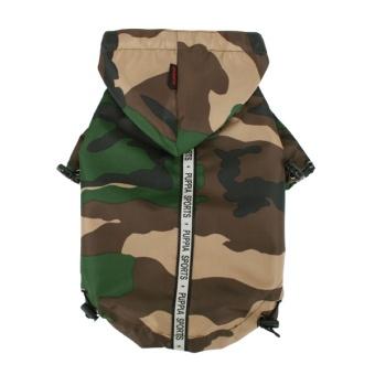Puppia Base Jumper Rain Coat Camo