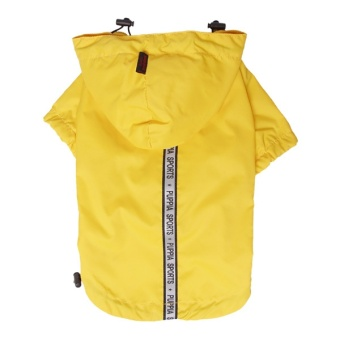 Puppia Base Jumper Rain Coat Gul