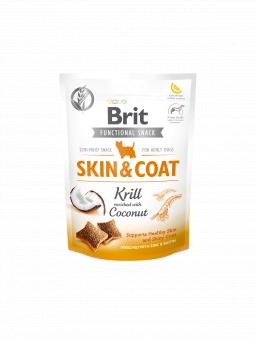 Brit Functional Snack Skin & Coat Krill