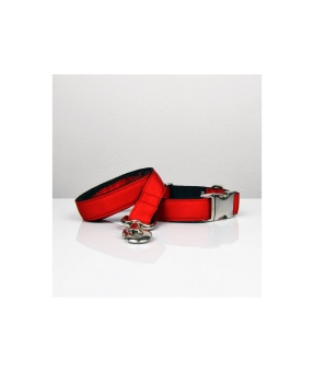 Brott Solid Red leash