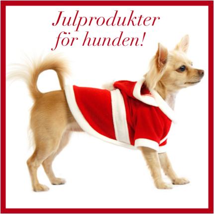 Julprodukter för hunden!
